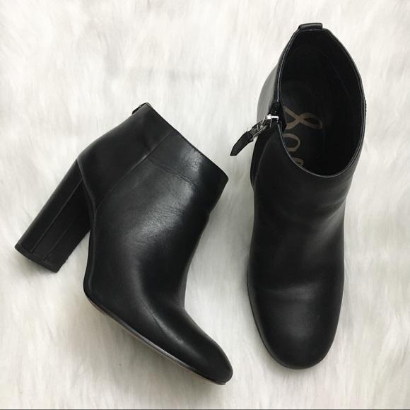 dc4bb14fd Sam Edelman Cambell Black Ankle Booties. M 5acb2b125512fd84837c8558
